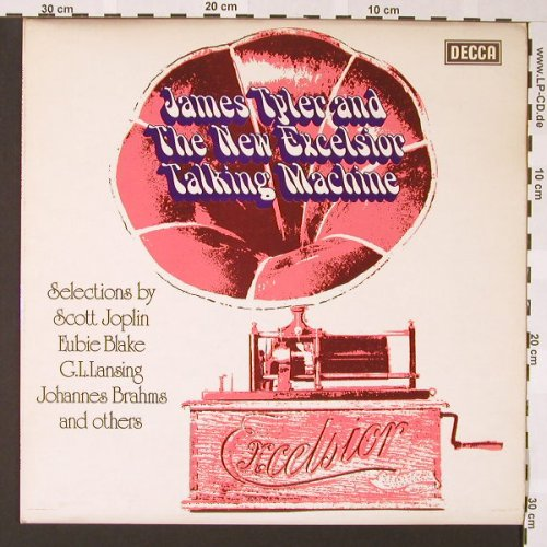 Tyler,James: & The New Excelsior Talking Machine, Decca(SKL 5266), UK, 1977 - LP - E6850 - 10,00 Euro