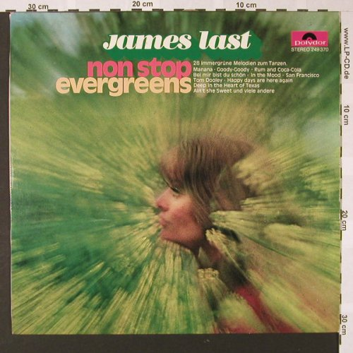 Last,James: Non Stop Evergreens, Polydor(249 370), D, 1969 - LP - E7054 - 5,00 Euro
