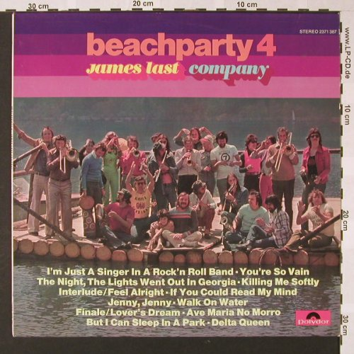 Last,James: Beachparty 4, Polydor(2371 387), D, 1973 - LP - E7096 - 5,00 Euro