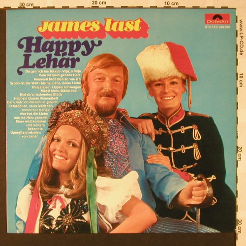 Last,James: Happy Lehar, Polydor(249 369), D, 1969 - LP - E7787 - 4,00 Euro