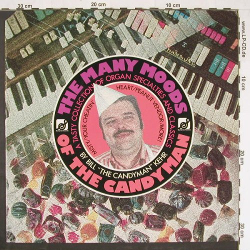 Kehr,Bill: Many Moods of the Candyman, co, Sunnyvale Rec.(9330-318), US, 1977 - LP - E884 - 9,00 Euro