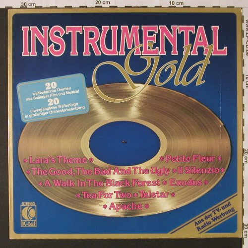 V.A.Instrumental Gold: Beverly PhillipsOrch..Stan Roderick, K-tel(TG 1173), D, 1978 - LP - E9122 - 4,00 Euro