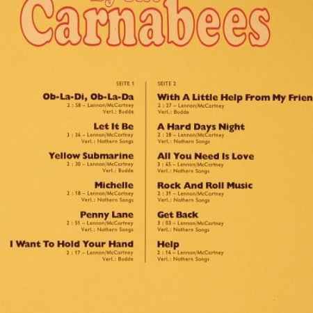 Carnabees: The Story Of The Beatles by, Happy Music(34 274 1), D,  - LP - F1046 - 7,50 Euro