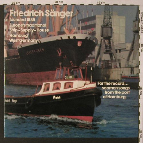 Friedrich Sänger: Ship-Supply-House, Foc, V.A., Teldec(TST 78 060), D,  - LP - F3526 - 6,00 Euro