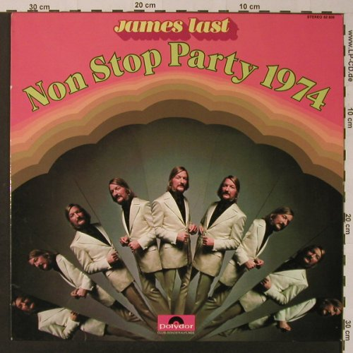 Last,James: Non Stop Party 1974, Club-Ed., Polydor(62 809), D, 1973 - LP - F3640 - 5,50 Euro