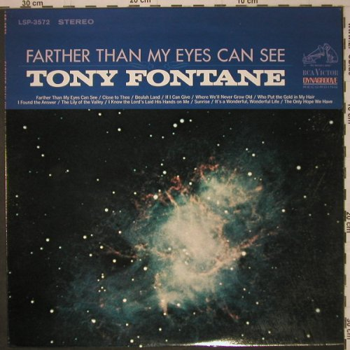 Fontane,Tony: Farther Than My Eyes Can See, RCA(LSP-3572), US, 1966 - LP - F3658 - 12,50 Euro