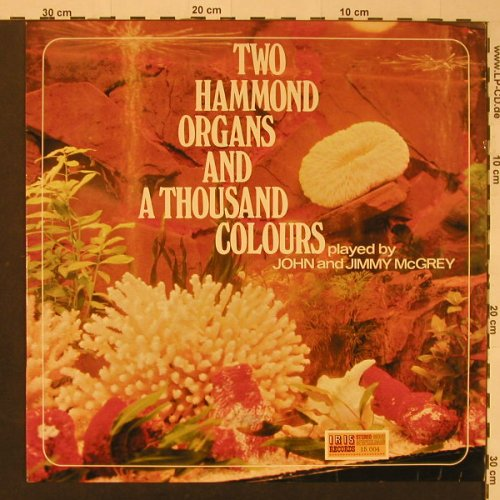 Mc Grey,John & Jimmy: Two Hammond Organs And A Thousa, Iris Rec.(15.004), NL,  - LP - F3980 - 6,00 Euro