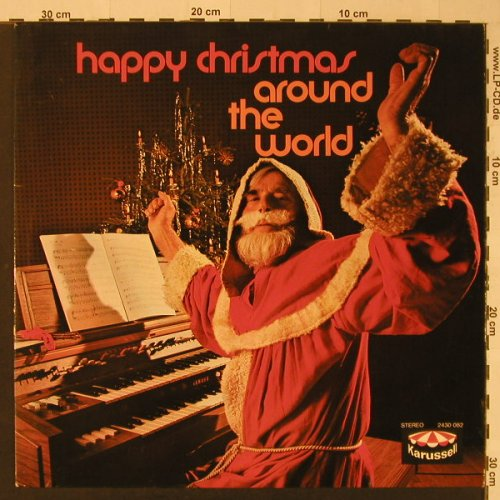 Yamaha-Organ: Happy Christmas Around The World, Karussell(2430 082), D, 1972 - LP - F4050 - 5,00 Euro