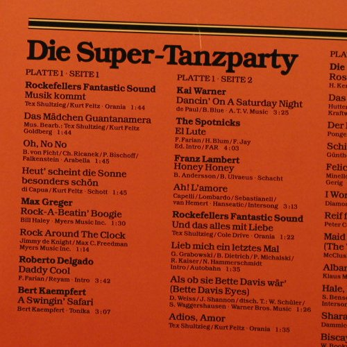 V.A.Die Super Tanzparty: 40 Tr., Foc, Karussell(2873 033), D,  - 2LP - F4058 - 6,00 Euro