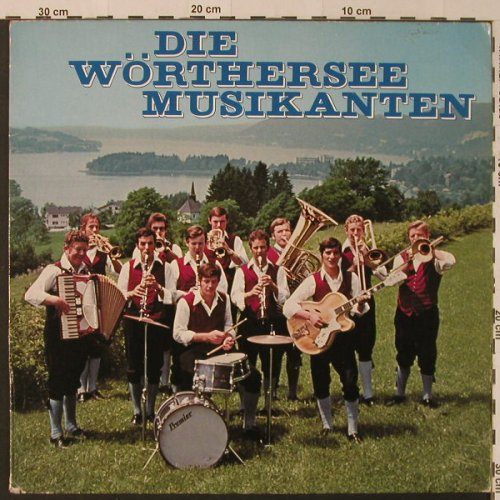 Wörthersee Musikanten: Same, M Records(89 548 ZU), D,  - LP - F4170 - 5,00 Euro
