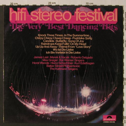 V.A.hifi-stereo-festival: The Very Best Dancing Hits, Polydor(2416 006), D, 1971 - LP - F4208 - 5,00 Euro