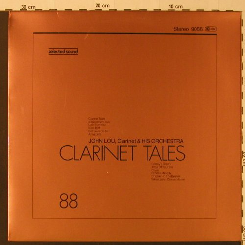 Lou,John & his Orch.: Clarinet Tales - Half Speed, SelectedS.(9088), D, 1981 - LP - F4229 - 5,00 Euro