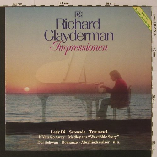 Clayderman,Richard: Impressionen, Club-Ed., Teldec(29 522 0), D, 1982 - LP - F4406 - 5,00 Euro