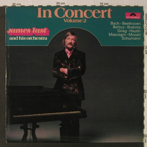 Last,James: In Concert Volume 2, Polydor(2371 320), UK, 1973 - LP - F4697 - 6,00 Euro