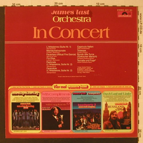 Last,James: In Concert, Polydor(2371 191), D, 1971 - LP - F4736 - 5,00 Euro