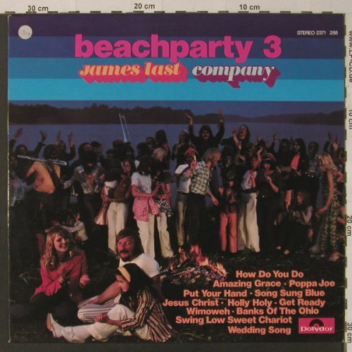 Last,James: Beachparty 3, Polydor(2371 288), D, 1972 - LP - F4785 - 5,00 Euro