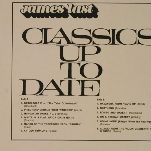Last,James: Classics Up To Date, Polydor(184 061), D, 1966 - LP - F5605 - 5,00 Euro