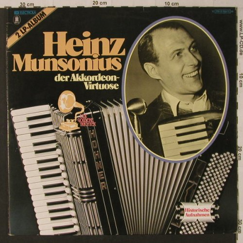 Munsonius,Heinz: Der Akkordeon-Virtuose, Foc, Odeon(178-31 769/70M), D, Mono,  - 2LP - F5806 - 7,50 Euro
