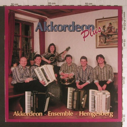 Akkordeon-Ensemble-Hemgesberg: Akkordeon plus(incl.Abba Medley), Koch Intern.(180744), D, m/vg+, 1990 - LP - F5840 - 6,00 Euro