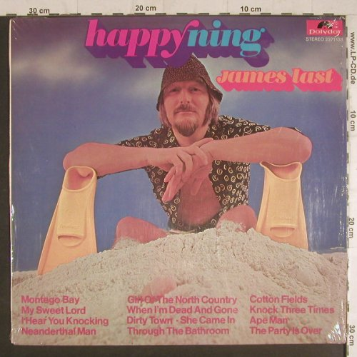 Last,James: Happyning, Polydor(2371 133), D, 1971 - LP - F6065 - 7,50 Euro