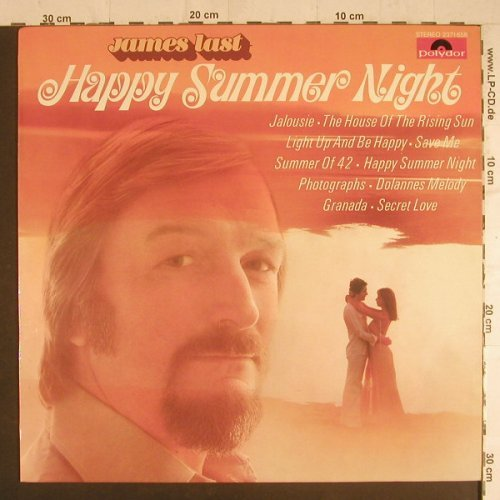 Last,James: Happy Summer Night, Polydor(2371 658), D, 1976 - LP - F6123 - 5,00 Euro