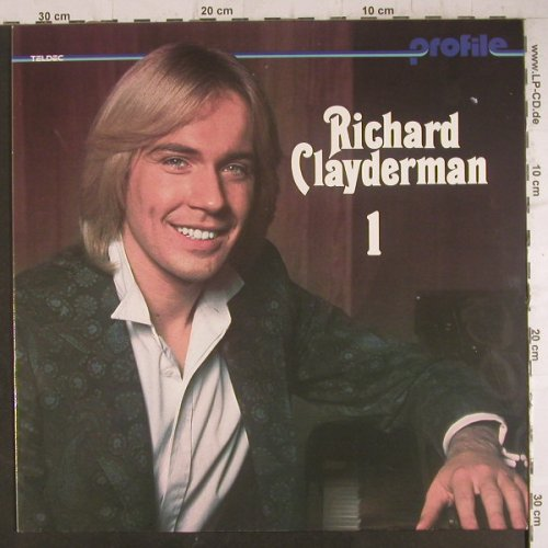 Clayderman,Richard: Profile 1, Teldec(6.24381 AL), D,  - LP - F6485 - 4,00 Euro