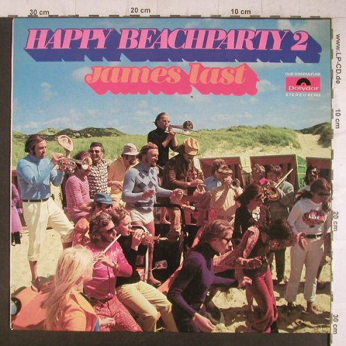 Last,James: Happy Beach Party 2, Club-Ed., Polydor(92 968), D,  - LP - F6522 - 7,50 Euro