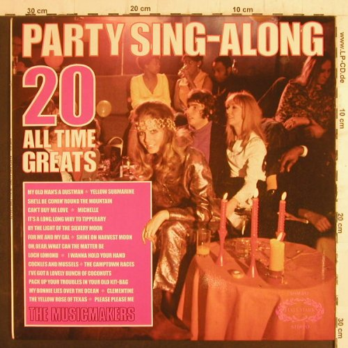 Musicmakers: Party Sing-Along,20 All Time Great, Hallmark(SHM 812), UK, woc, 1973 - LP - F6583 - 4,00 Euro