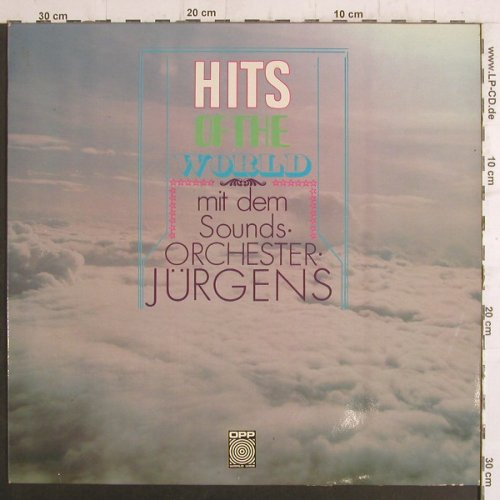 Sound Ochester Jügens: Hits of the World, OPP(5-29), D, 1970 - LP - F6592 - 9,00 Euro