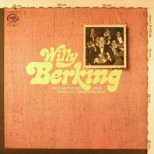 Berking,Willy: Originalaufn.s.berühmtenSpitzenorch, MFP(M 048-28 542), D,woc,co, 1970 - LP - F6660 - 5,50 Euro