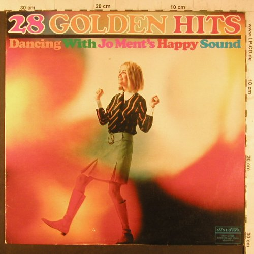 Ment,Jo - Happy Sound: 28 Golden Hits-Dancing with.., Discoton(77 529), D,  - LP - F6707 - 5,50 Euro