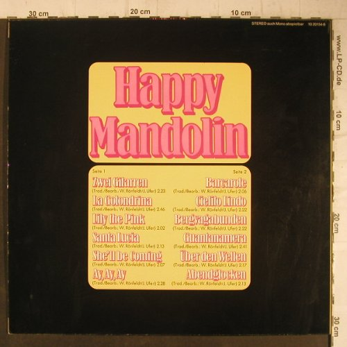 Happy Mandolin: Same, BASF(10 20154-6), D,  - LP - F7480 - 6,00 Euro