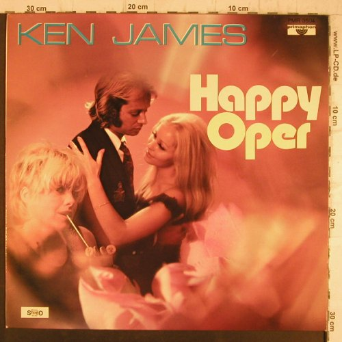 James,Ken: Happy Oper, Primaphon(PMR 3504), D,  - LP - F8370 - 7,50 Euro