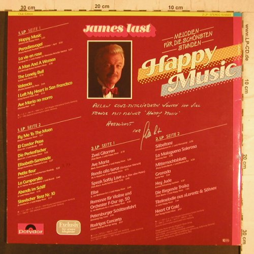 Last,James: Happy Music, Foc, Club Edition, Polydor(15 656 6), D,  - 2LP - F8372 - 7,50 Euro