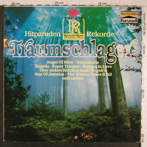 Rose,Richard: Traumschlager, Karussell(2872 164), D, 1981 - LP - F8399 - 5,00 Euro