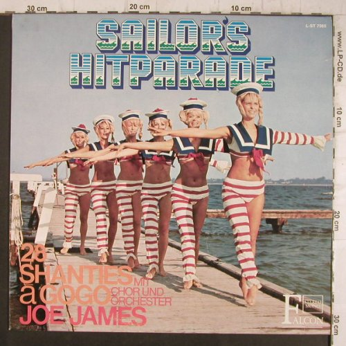 James,Jo mit Chor und Orch.: Sailors Hitparade,28Shanties a gogo, Falcon(L-ST 7085), D,  - LP - F8413 - 6,00 Euro