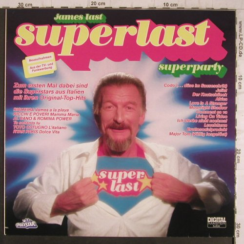 Last,James: Superlast, Polystar(817 329-1), D, 1983 - LP - F8431 - 5,50 Euro