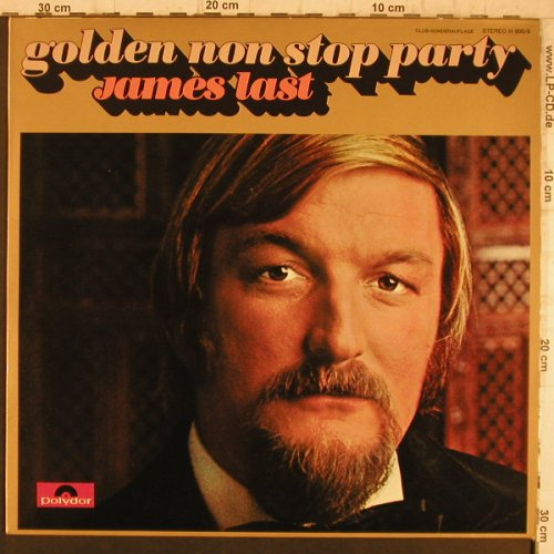 Last,James: Golden Non Stop Party, Polydor Club-Sonderaufl.(H 600/9), D, 1970 - LP - F8440 - 6,00 Euro
