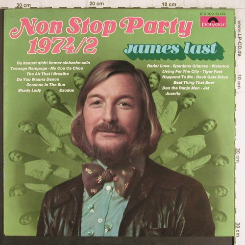 Last,James: Non Stop Party 1974 / II, Polydor Club Ed.(63 342), D, 1974 - LP - F8586 - 6,00 Euro