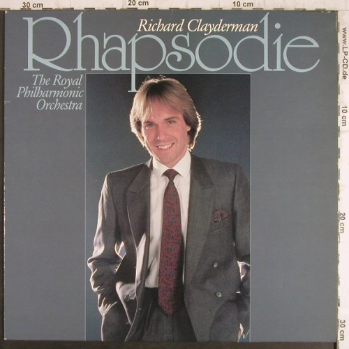 Clayderman,Richard: Rhapsodie, Royal Philh.Orch., Teldec(43 336 7), D,Club Ed., 1985 - LP - F8649 - 5,50 Euro