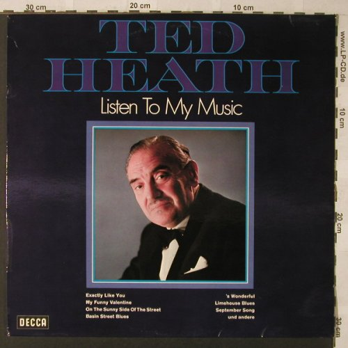 Heath,Ted: Listen To My Music, Decca(PD 12 004), D,  - LP - F884 - 5,00 Euro