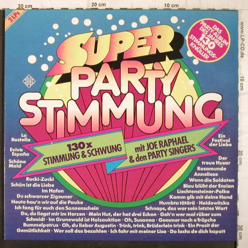 Raphael,Joe & den Party Singers: Super Party Stimmung. 130 x..., Telefunken(6.28435 DP), D, Foc, 1977 - 2LP - F9028 - 5,00 Euro