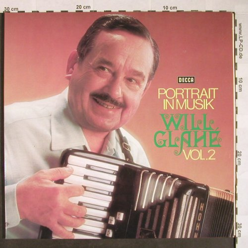 Glahe,Will: Portrait in Musik Vol. 2, Foc, Decca(DS 3234/1-2), D, 1973 - 2LP - F9896 - 7,50 Euro