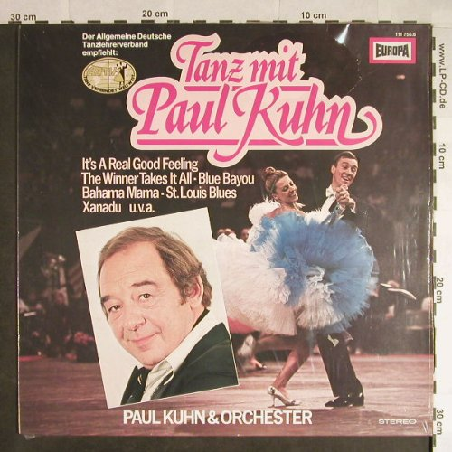 Kuhn,Paul & Orchester: Tanzparty Mit Paul Kuhn, Europa(111 755.6), D, 1980 - LP - H106 - 5,50 Euro