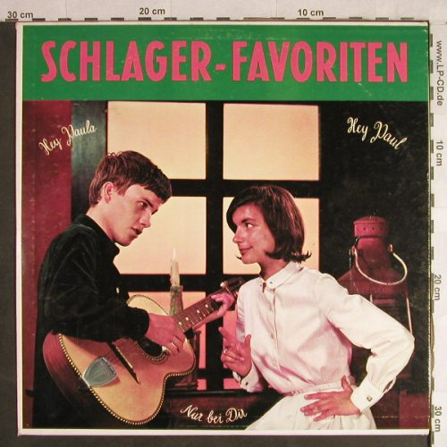 Ment Quintett,Jochen und Johnny: Schlager-Favoriten, VG-/m-, Somerset(DL-577), D,  - LP - H1419 - 5,00 Euro