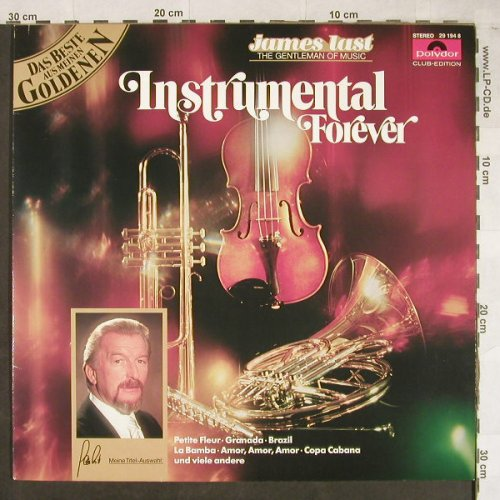 Last,James: Instrumental Forever, Club Ed., Polydor(29 194 8), D, Ri,  - LP - H1558 - 5,50 Euro