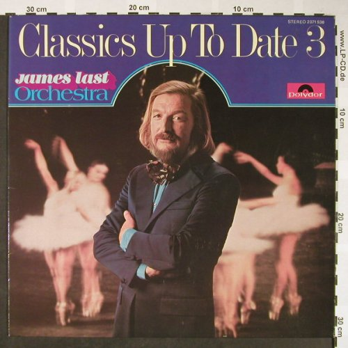 Last,James: Classics Up To Date Vol.3, Polydor(2371 538), D, 1974 - LP - H1683 - 5,00 Euro