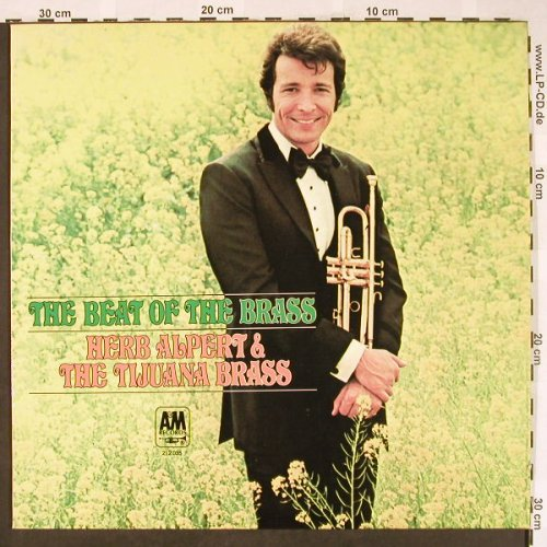 Alpert,Herb & Tijuana Brass: The Beat Of The Brass, AM(212 035), D, 1968 - LP - H1899 - 9,00 Euro