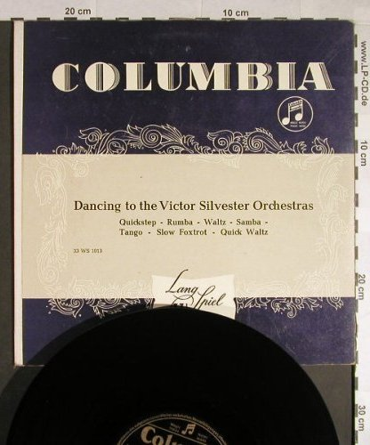 Silvester Orchestras,Victor: Dancing to the, vg+/m-, Columbia(33 WS 1013), D,  - 10inch - H189 - 7,50 Euro