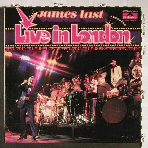 Last,James: Live In London, Club Ed., Polydor(34 391 3), D, 1978 - LP - H2003 - 5,00 Euro